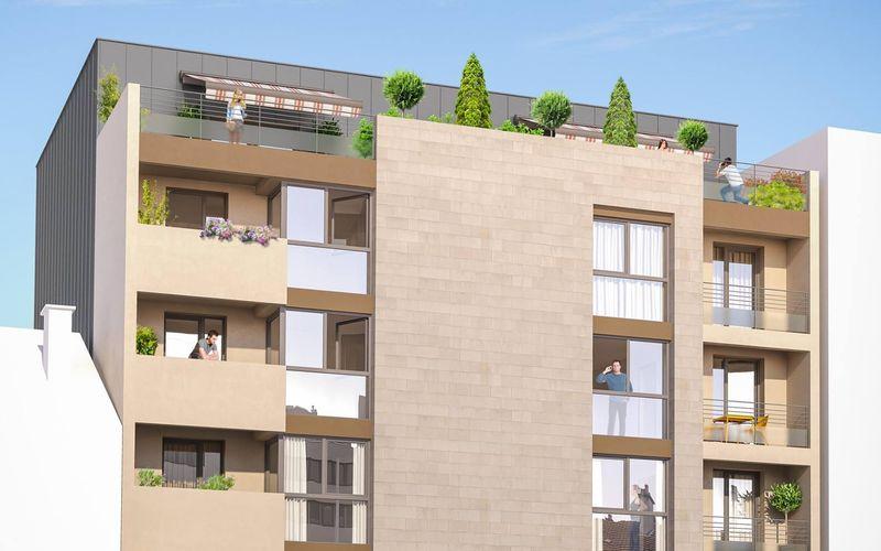 Proche place Stalingrad - Immobilier Neuf à Reims à prix Promoteur