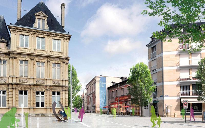 Place de l'Hôtel de Ville - Immobilier Neuf à Reims à prix Promoteur