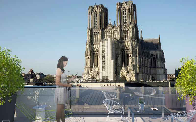 coeur de notre dame - Immobilier Neuf à Reims à prix Promoteur