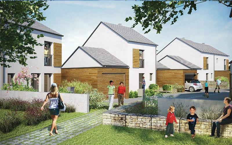 Bezannes - Maisons - Immobilier Neuf à Reims à prix Promoteur